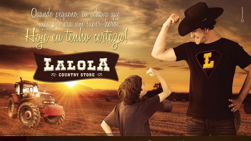 ANÚNCIO PARA JORNAL / REVISTA - LALOLA COUNTRY STORE